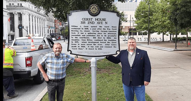 Scott Mertie and Gerst House Nashville Historical Marker