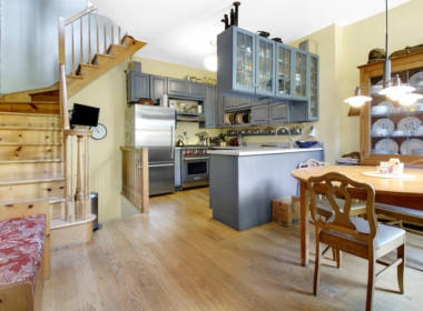 kitchen din space