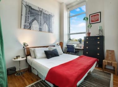 505 Court bedroom