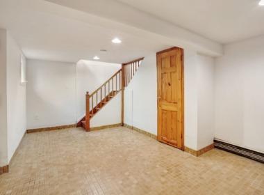 186 W 9th finished basement