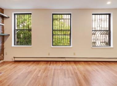 186 W 9th top floor 3 windows