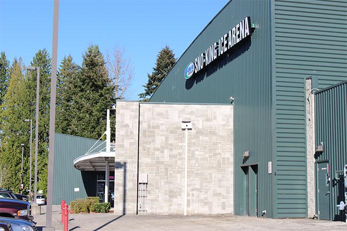 Suburban Shopping Center and Ice Arena