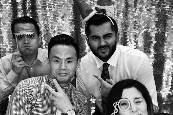 HALO Company Christmas Party Photo