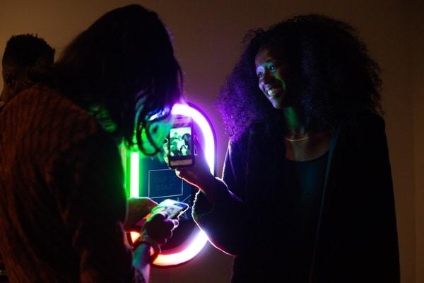 Social Sharing Salsa Party Photo