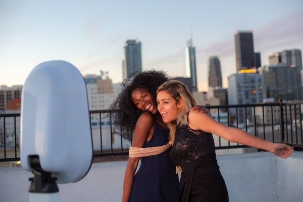 Rooftop Corporate Party Photo Booth