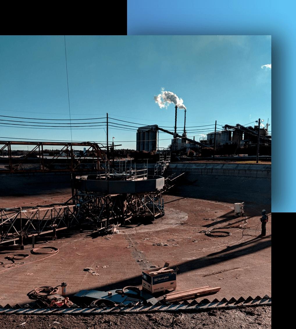 Rockwater Industrial Clarifier