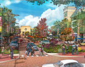 downtown redevelopment proposal, Millville, NJ - WRT