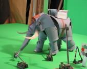 Crayon Elephant - Brass Construction