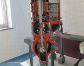 Model of reactor cooling pump and model of reactor cooling pump sealing system