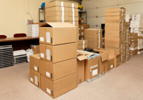 Small,Warehouse,With,Cardboard,Boxes