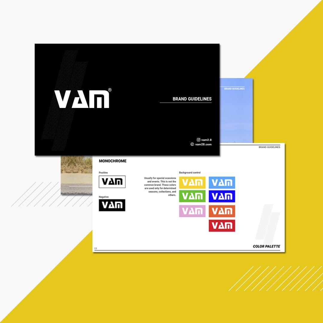 VAM brandbook