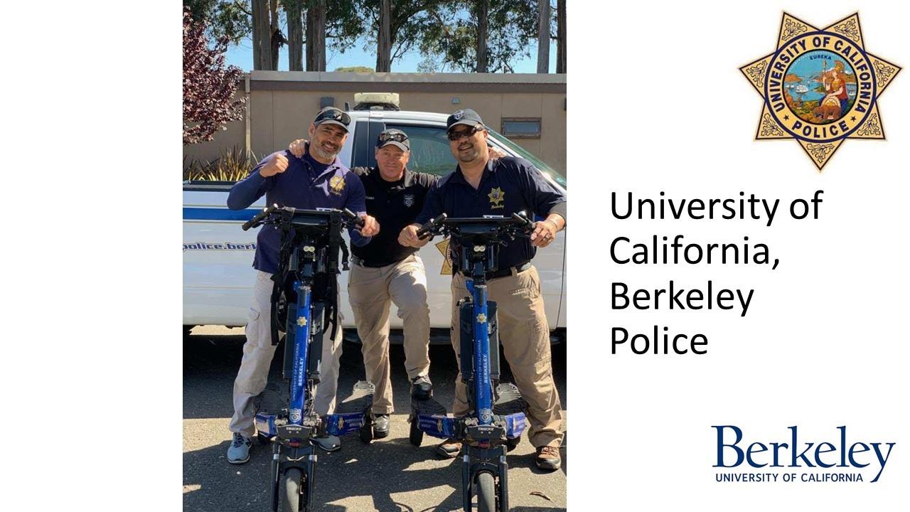 Trikke Police Berkeley