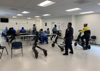 Trikke Police training