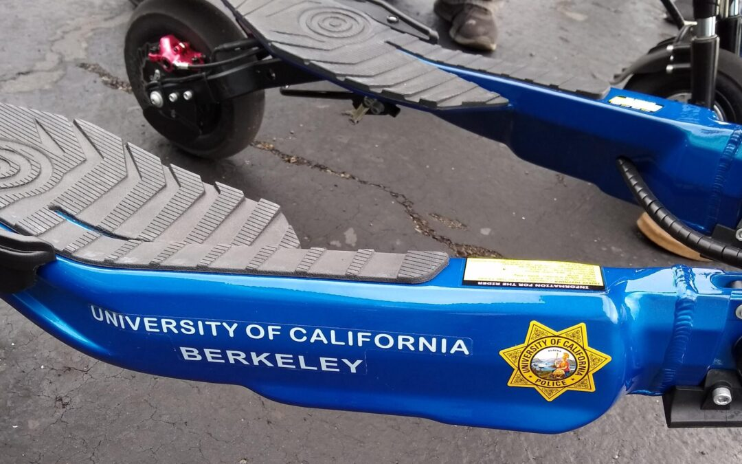 Patrolling on Trikkes makes Cal-Berkeley police officers more approachable