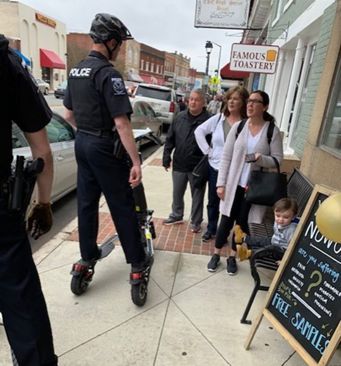 Police Trikke public engagement