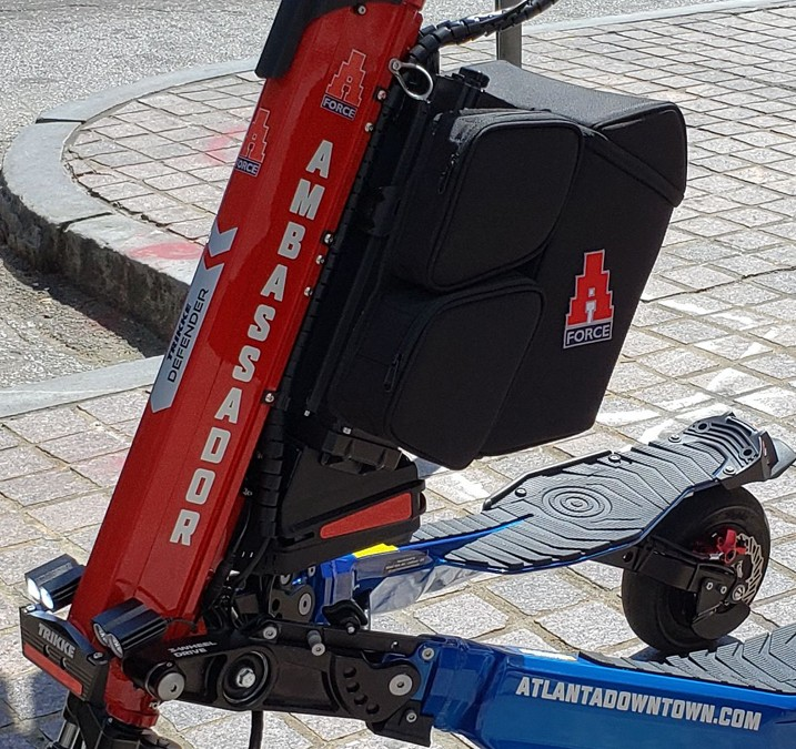 Atlanta's Ambassador Force accomplishes mission on electric Trikkes