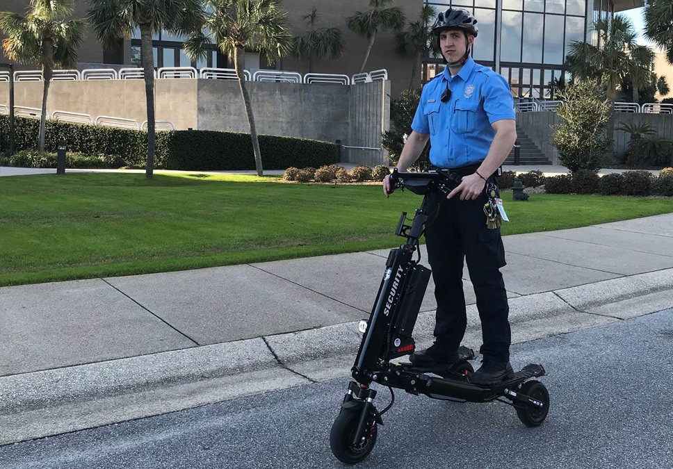 Florida college segues from Segways to Trikke Defenders