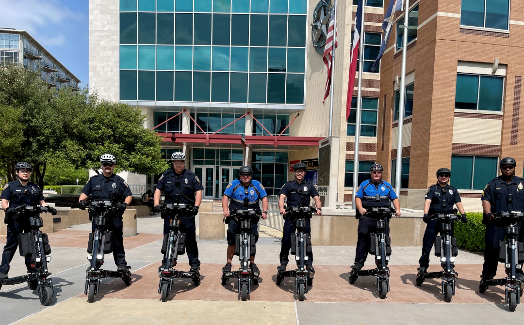 Dallas College P.D. pivots to Trikke Positrons