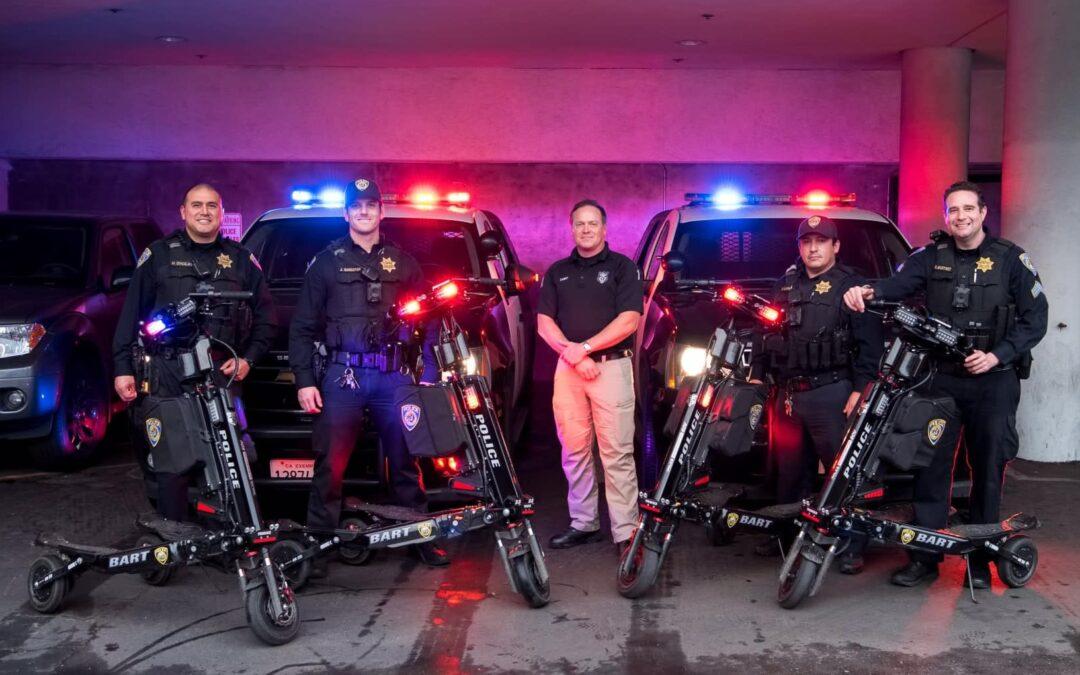 The Trikke Positron: an arresting development for U.S. police departments