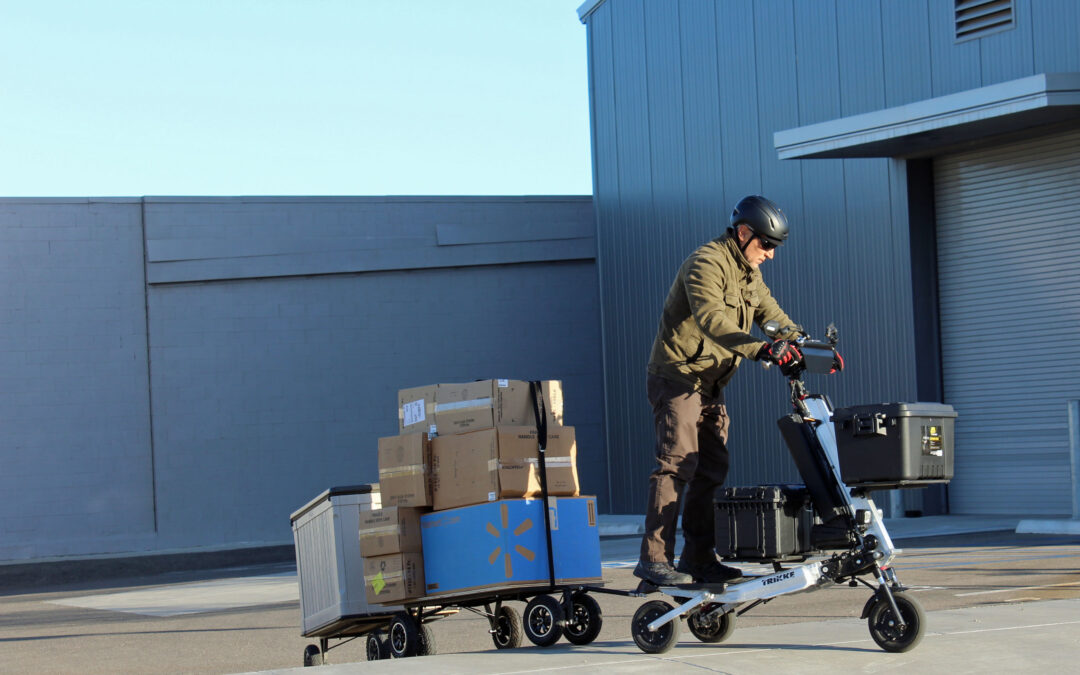 The Trikke Cargo System: A game-changer for last-mile deliveries and more