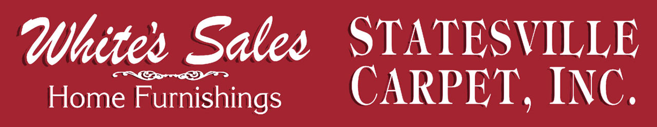 whites sales home furnishings, statesville carpet inc, logo