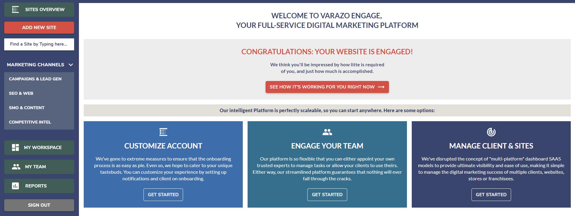What is The Digital Marketing Management Platform?