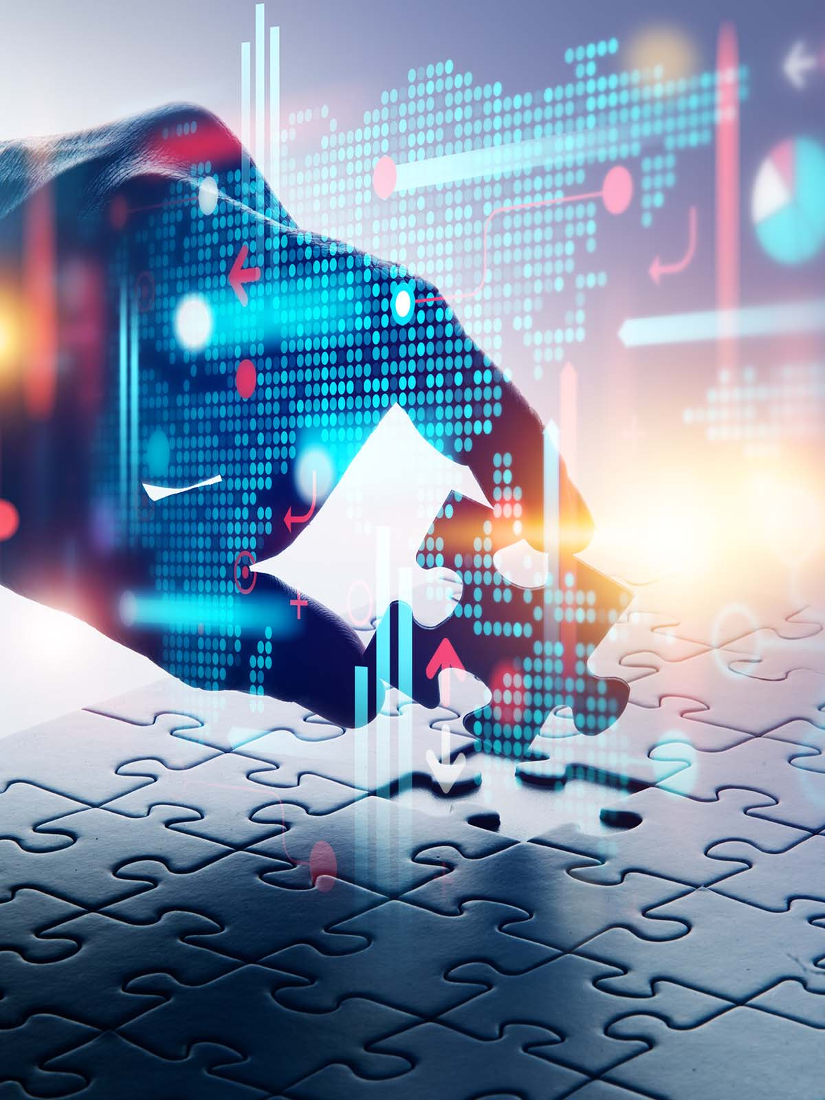 analytics, data driven decisions image