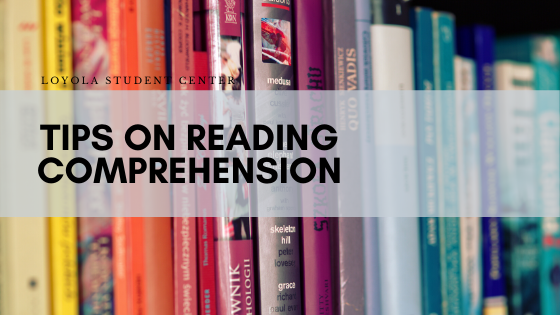 Test-Taking Tips on Reading Comprehension