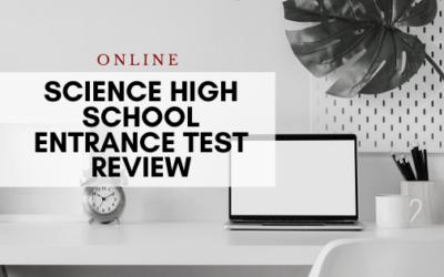 Online Science High School Entrance Test (SHSET)