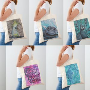 Printed Cotton Tote Bags