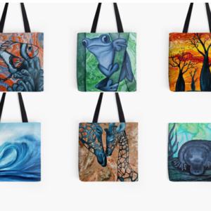 Full Print Tote Bags