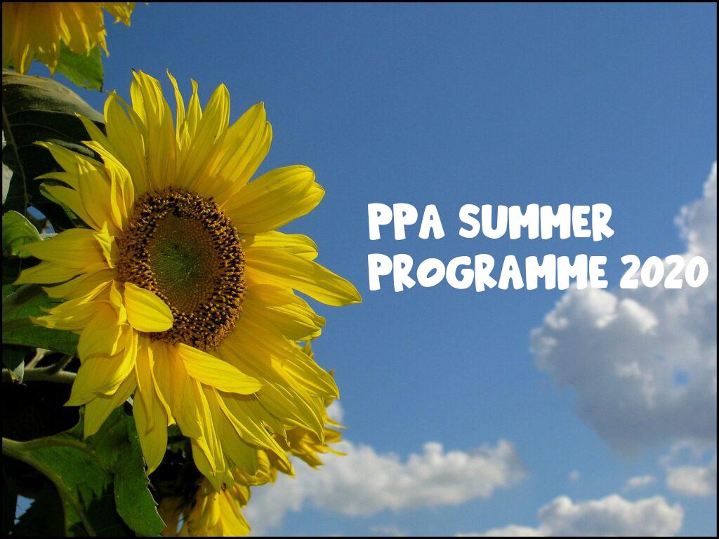 ppa summer program header