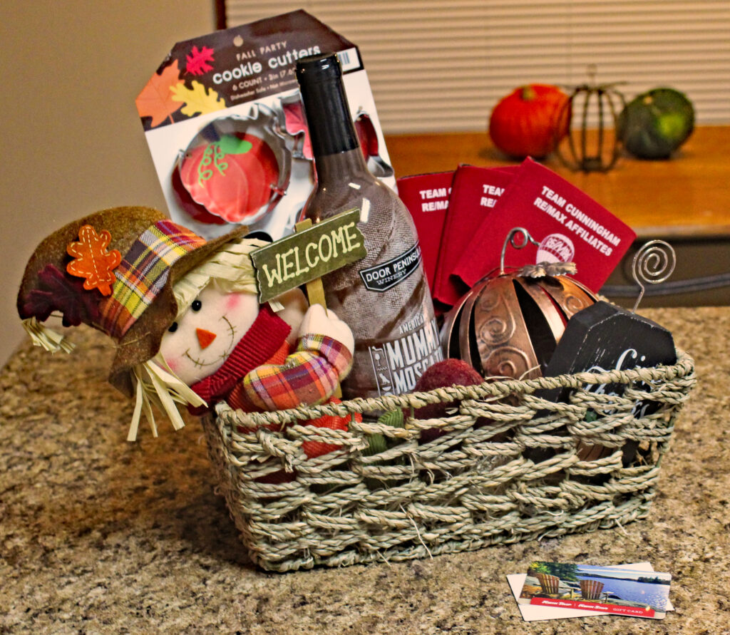 Gift Basket + Gift Card