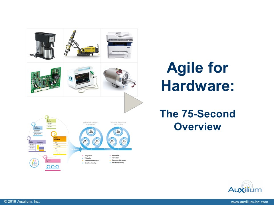 Agile for Hardware Executive Overview v2 Cover pic