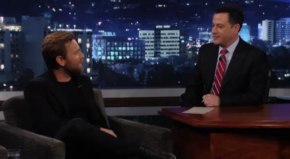 Movie News: Kimmel asks McGregor about new Star Wars
