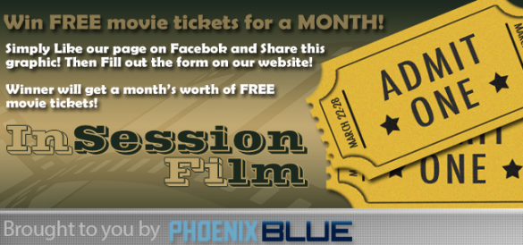 Featured: Win FREE movie tickets for a month!