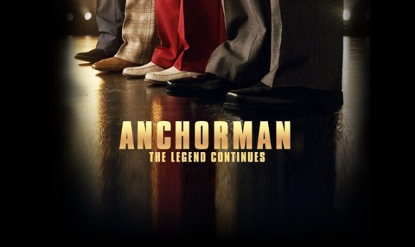 Movie News: Anchorman 2 moving to a new city