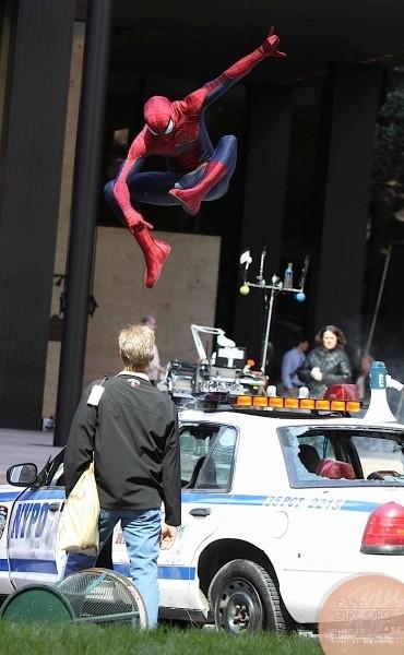 Spider Man movie action