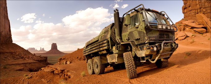 Transformers 4 Military Truck