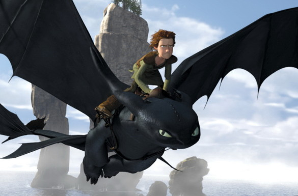 Movie News: Comic-Con poster for How to Train Your Dragon 2