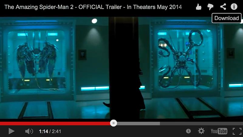 The Amazing Spider-Man 2 teaser