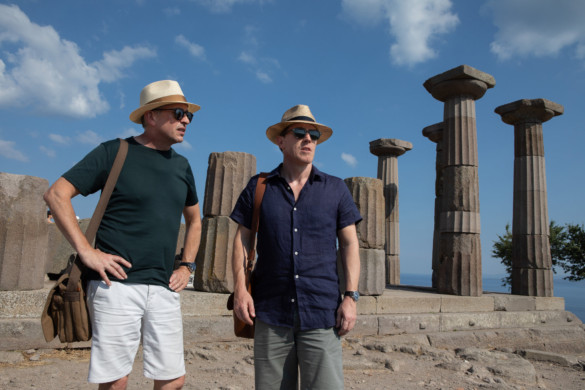 Movie Review: 'The Trip to Greece' is a taste of the familiar (and that's not a bad thing)