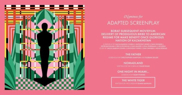 Chasing The Gold: Best Adapted Screenplay Nominees Analysis (2021 Oscars)