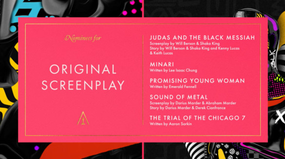 Chasing the Gold: Best Original Screenplay Nominees Analysis (2021 Oscars)