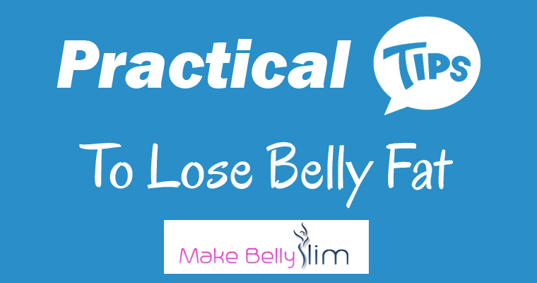tips to lose belly fat
