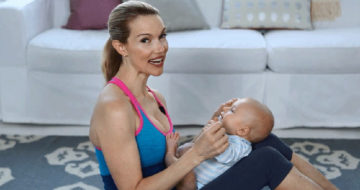 how to get back in shape after baby birth