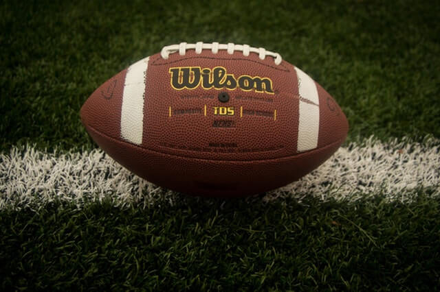 Football on filed Miami Car Accident