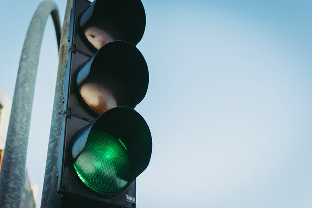 intersection accident traffic light