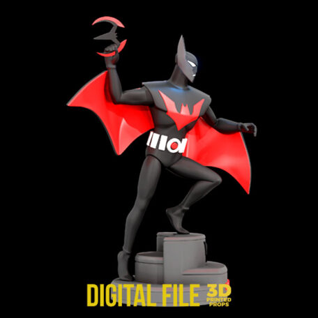 batman beyond statue