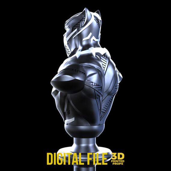black panther bust
